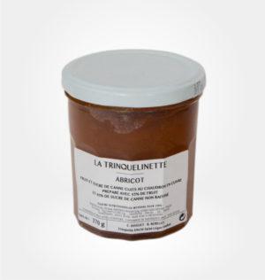 Confiture d'abricot La Trinquelinette