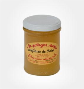 Confiture de poire Le Potager sucré