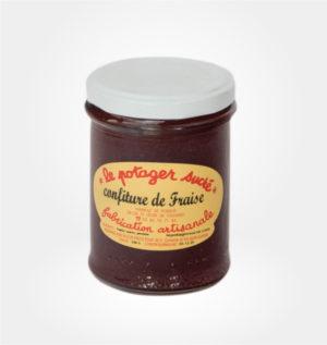 Confiture de fraise Le Potager sucré
