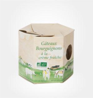 Gateaux Bourguignons à la crème fraiche rucher du Morvan